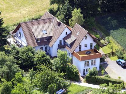 Luftbild eines Seniorenheims