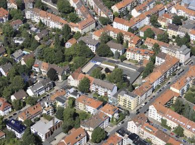 Luftaufnahme Innenstadt