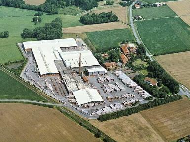 Luftaufnahmen Betriebsanlagen